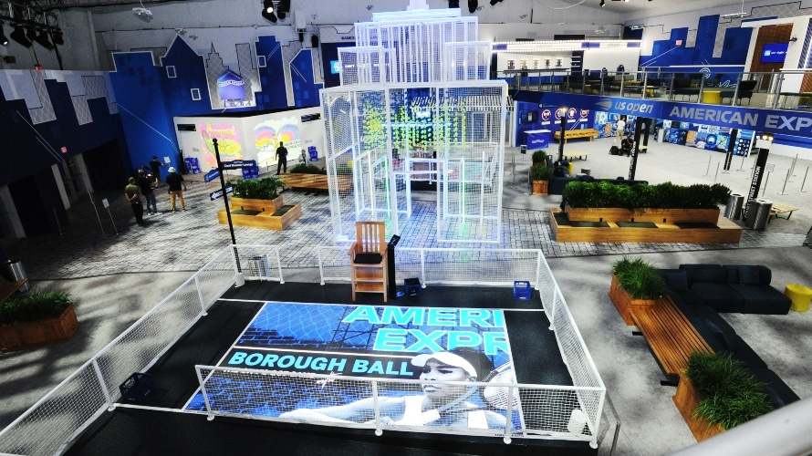 American Express Creates a New York-Themed Playground at the