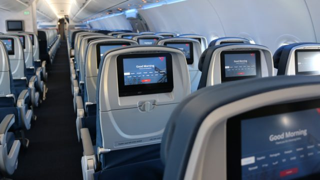 delta empty seats vincent peone private flight