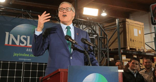 Jay Inslee Was the Climate Change Candidate. Did His Campaign Brand Effectively Convey That?