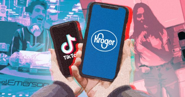 Kroger Is Using a New Shoppable Offering on TikTok to Try and Sell Back-to-School Staples