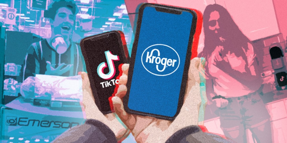 Kroger Christmas Hours 2019.Kroger Is Using A New Shoppable Offering On Tiktok To Try