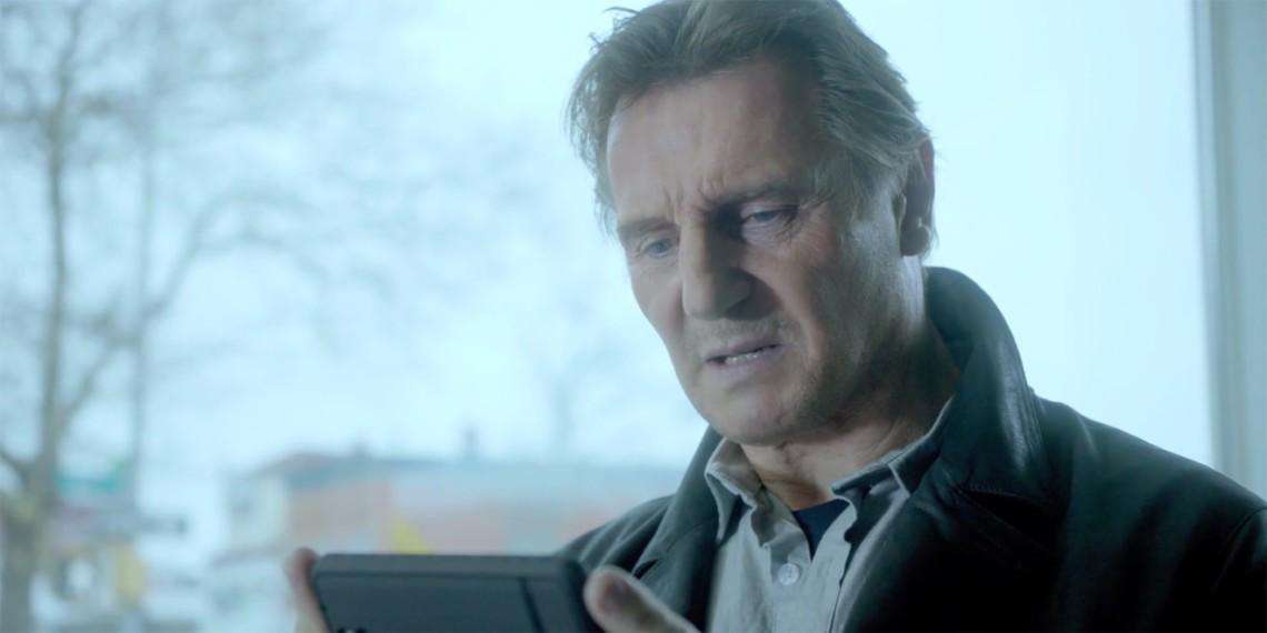 Liam Neeson in Barton F. Graf's 2015 Super Bowl ad for Clash of Clans