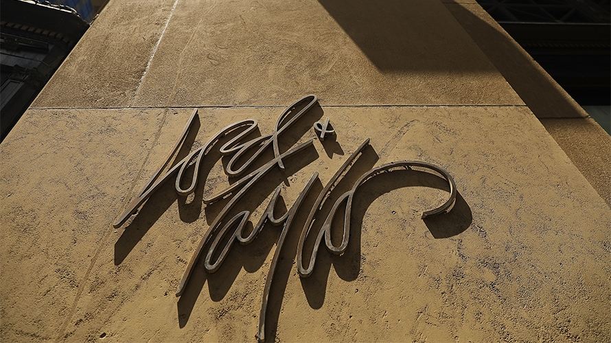 Lord & Taylor signage on a building