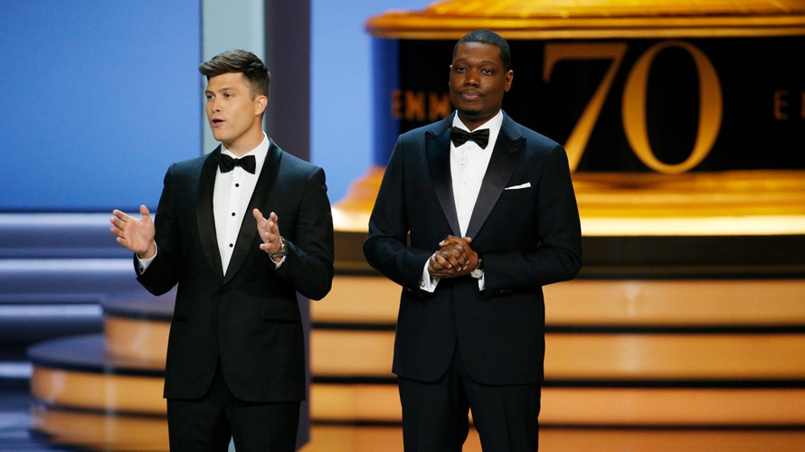 Michael Che, Colin Jost host the Emmys