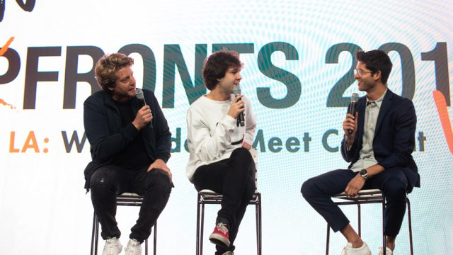 Speakers at NewFronts West