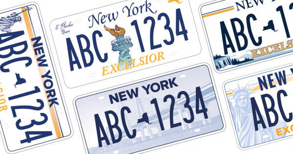 Agencies and Designers Aren't Thrilled With New York's Redesigned License Plate Options