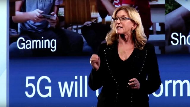 Qualcomm CMO Penny Baldwin presentation on 5G