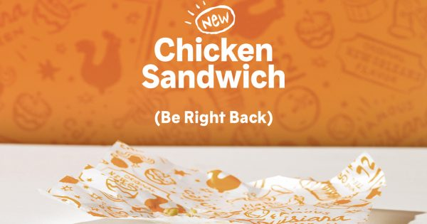 Popeyes Sells Out of Chicken Sandwiches, Putting Its Newfound Popularity at Risk