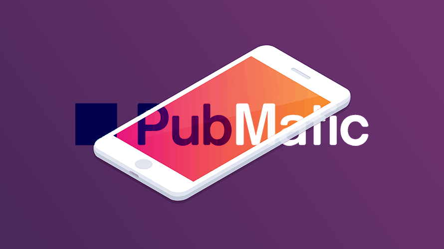 PubMatic logo with phone