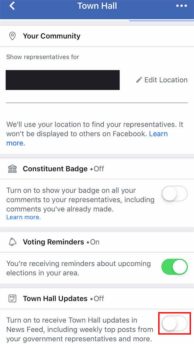 Facebook: Here's How to Add Town Hall Updates to Your Feed