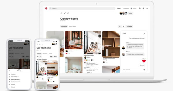 Pinterest Adds New Features to Its Group Boards