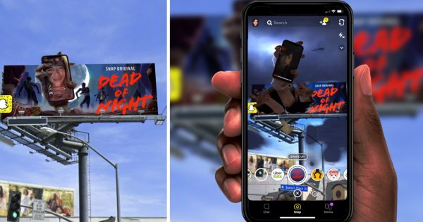 Snapchat Uses AR Billboards in Los Angeles to Back 2 of Its Snap Originals Shows