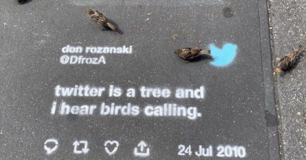 Twitter Apologizes for Stencil-and-Chalk Campaign in the Streets of San Francisco