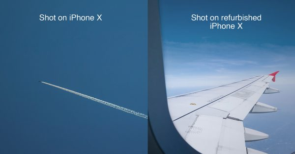 These Sly Ads Show the Key Difference Between a New and Refurbished iPhone