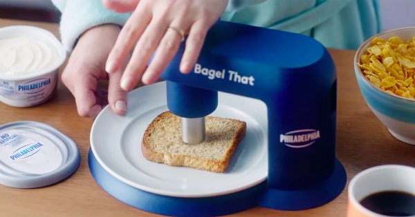 Philadelphia Cream Cheese Invented a Device to Turn Anything Into a Bagel