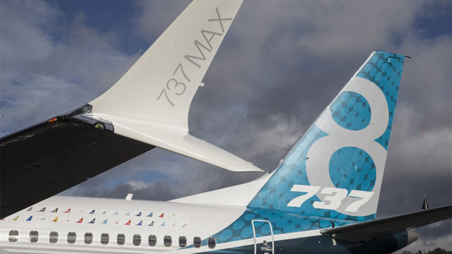 Boeing 737 Max 8 airplanes