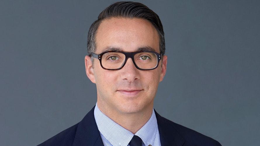 Headshot of E! President Adam Stotsky