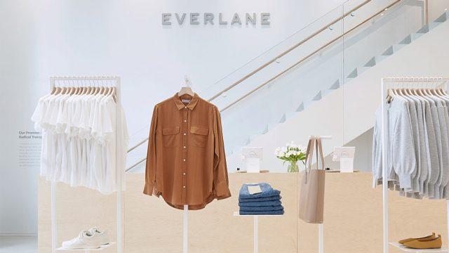 Everlane retail store