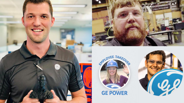 Collage of GE Power employees