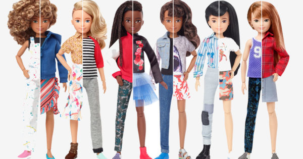 Mattel Releases Line of Gender-Neutral Creatable World Dolls