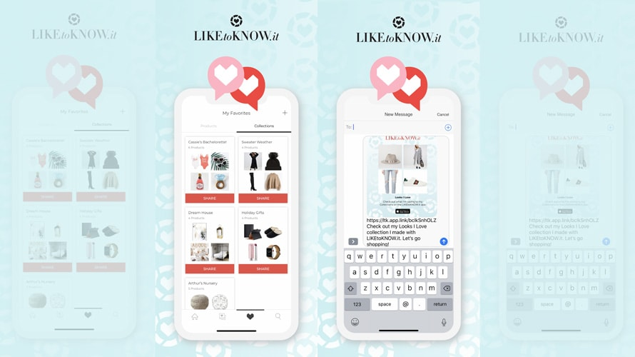 LiketoKnow.it's Collections feature