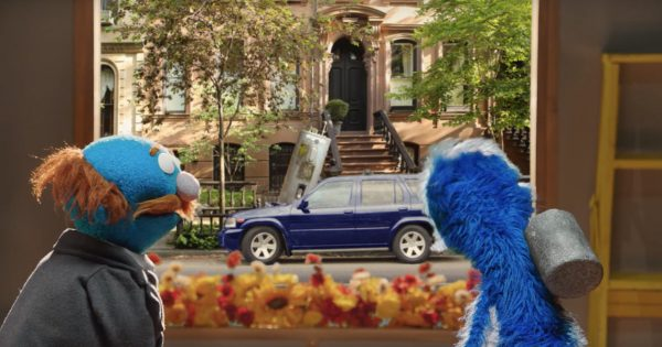 Sesame Street Characters Wreak Havoc in This Cute Farmers Insurance Campaign