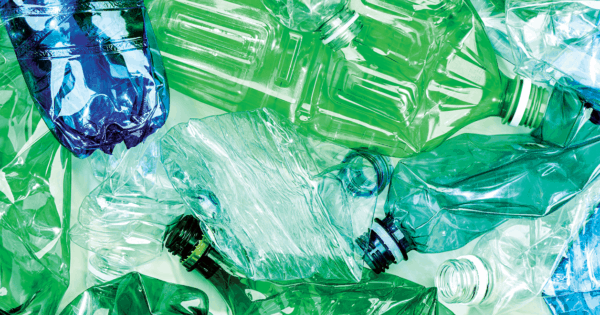 Turns out recycled plastic is perfect for creating fibers
