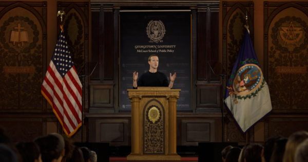 5 Key Parts of Mark Zuckerberg's Talk on Free Speech at Georgetown University