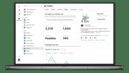 Workplace by Facebook dépasse les 3 millions d'utilisateurs rémunérés – Newstrotteur WorkplaceByFacebookInsights 450x255