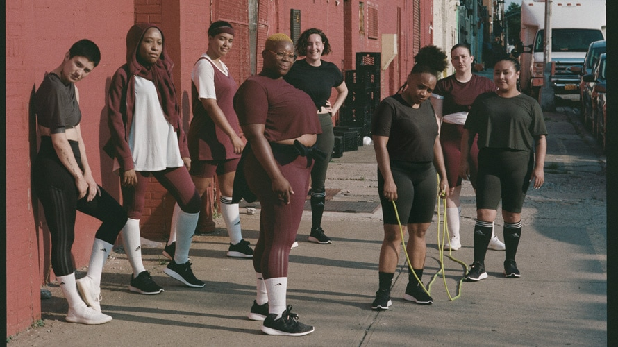 adidas universal standard clothing collection