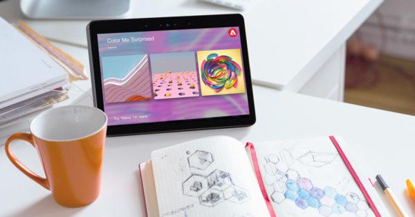 Break Your Artistic Block With Adobe's New Amazon Alexa Skill