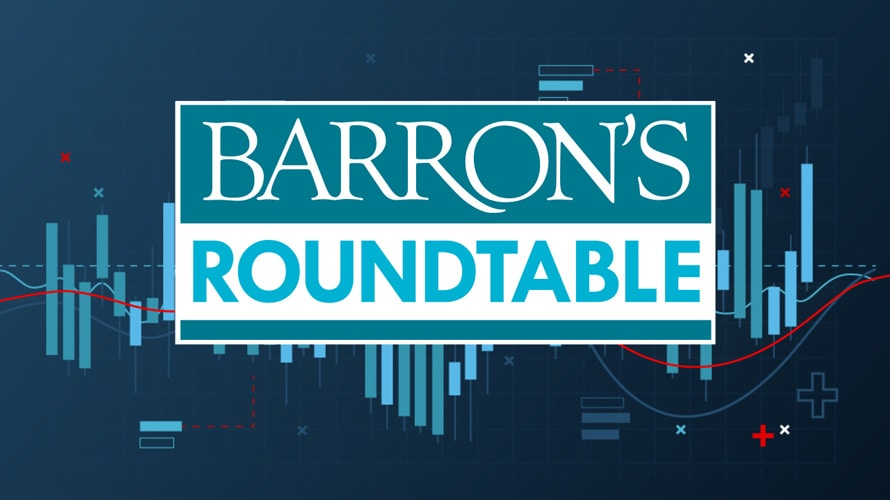A logo that says Barron's Roundtable