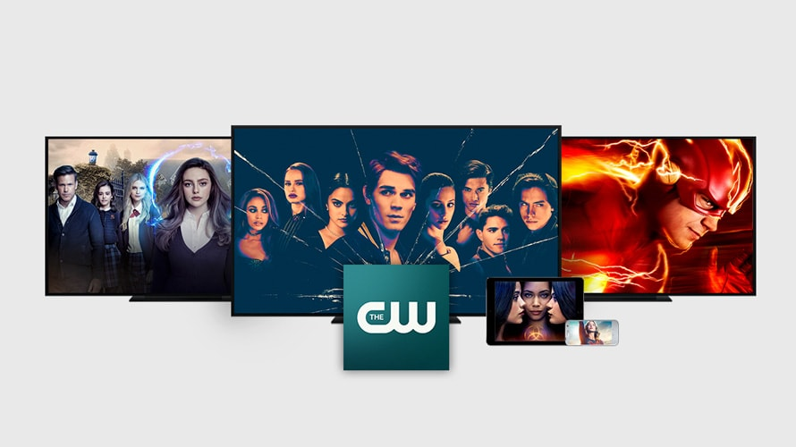 menu of the cw's shows