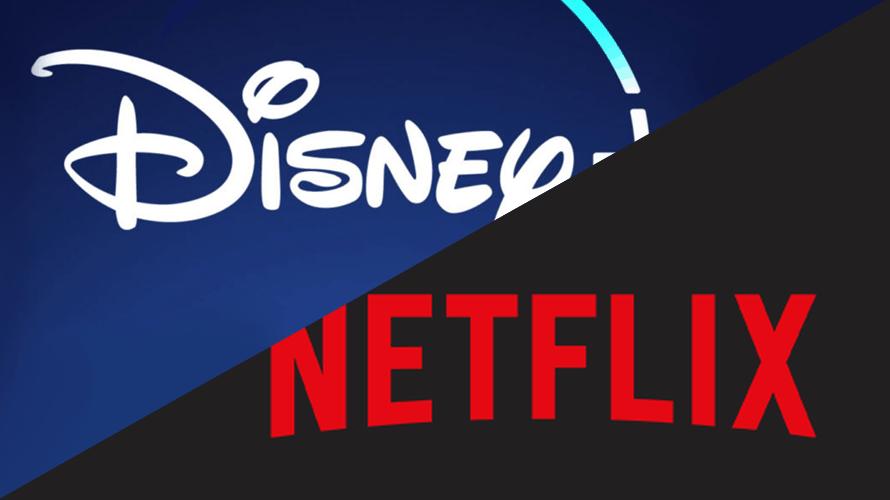 Disney and Netflix logos