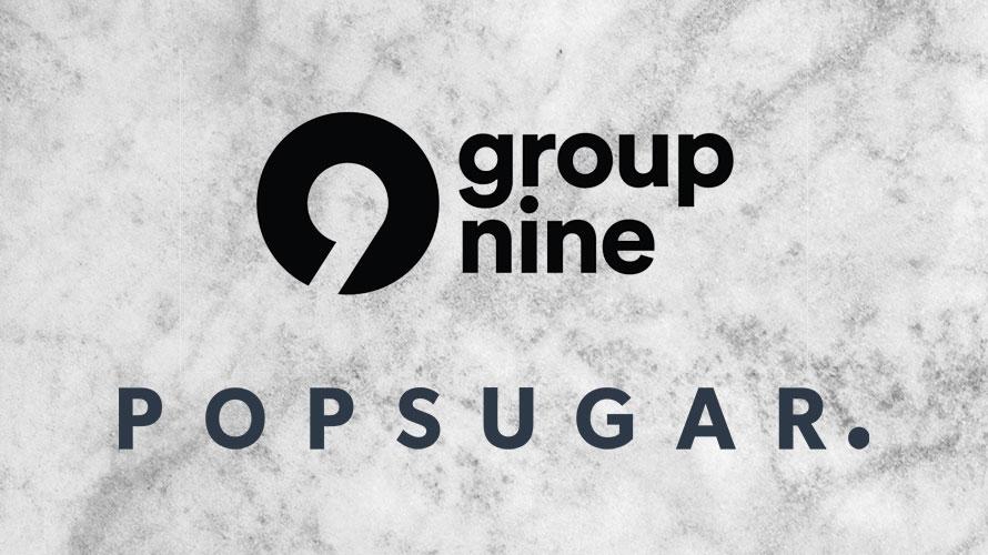 Group Nine and PopSugar logos