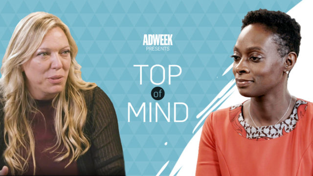 Nadine Dietz, Top of Mind logo, Monique Nelson