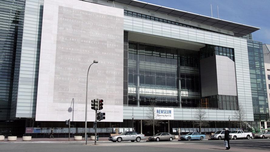 newseum washington dc museum freedom forum closing