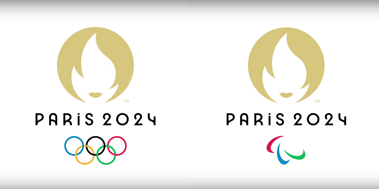 logos for Paris 2024