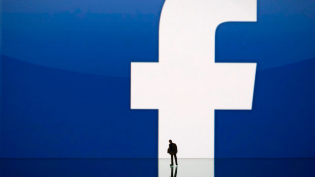 Rob Goldman and Facebook logo