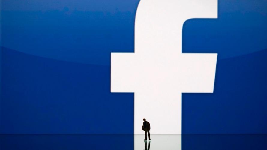 Rob Goldman and Facebook logo