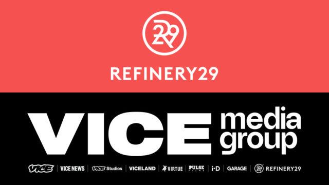 vice media group logo refinery29 logo