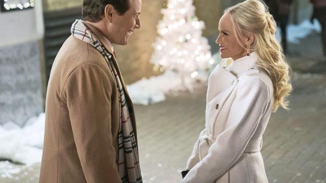 A still from the Hallmark movie A Christmas Love Story