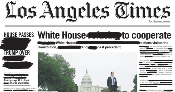 Amazon Just Pulled Off the Most Dramatic Front-Page Ad Takeover for 'The Report'