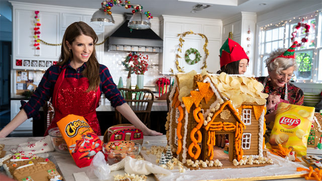 Anna Kendrick's favorite things are snacks for the holidays.