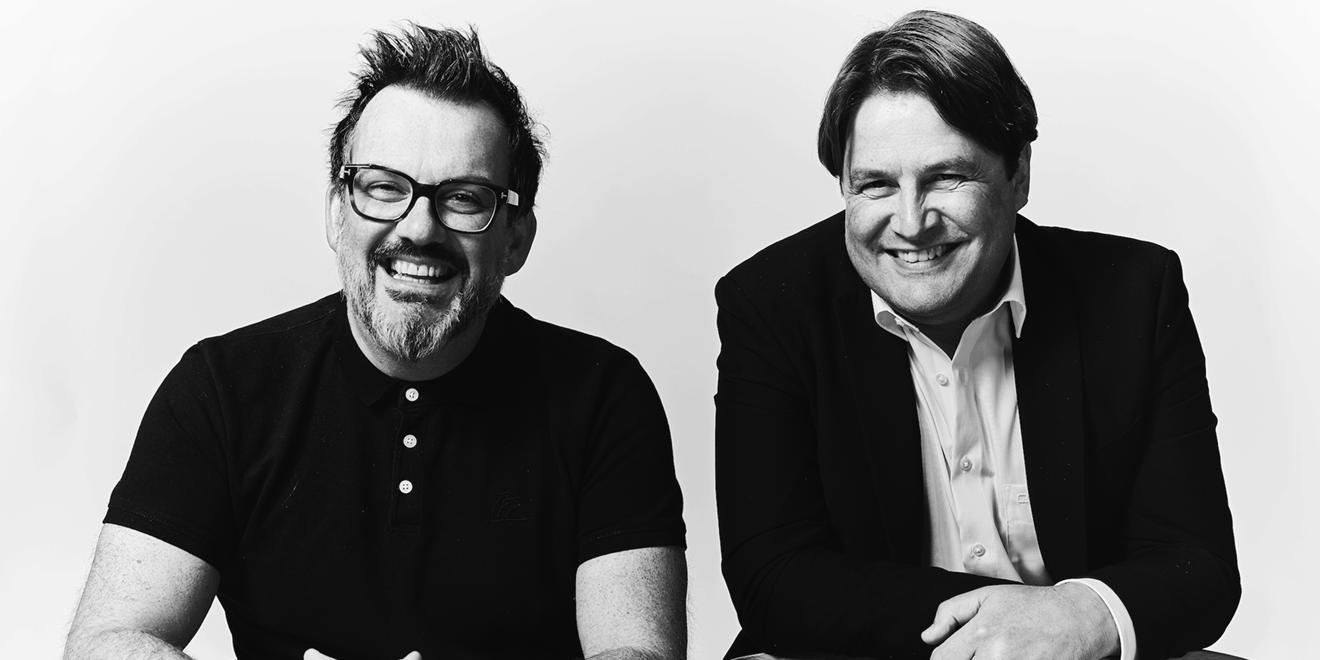 photo of daniel bonner (left) and bas Korsten