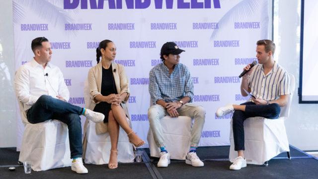 Harley Block, Khartoon Weiss, Swish Goswami, Nick Gardner at Brandweek