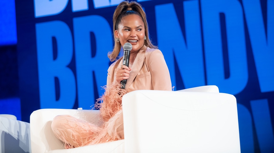 Chrissy Teigen at Brandweek