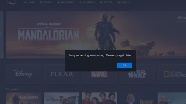 Disney plus connectivity error