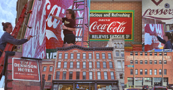 Ghost Signs, Bygone Ads Painted on Buildings, Are Fading Away—Should We Let Them?