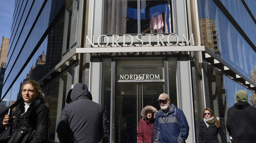 Nordstrom's NYC location opened its doors last month.